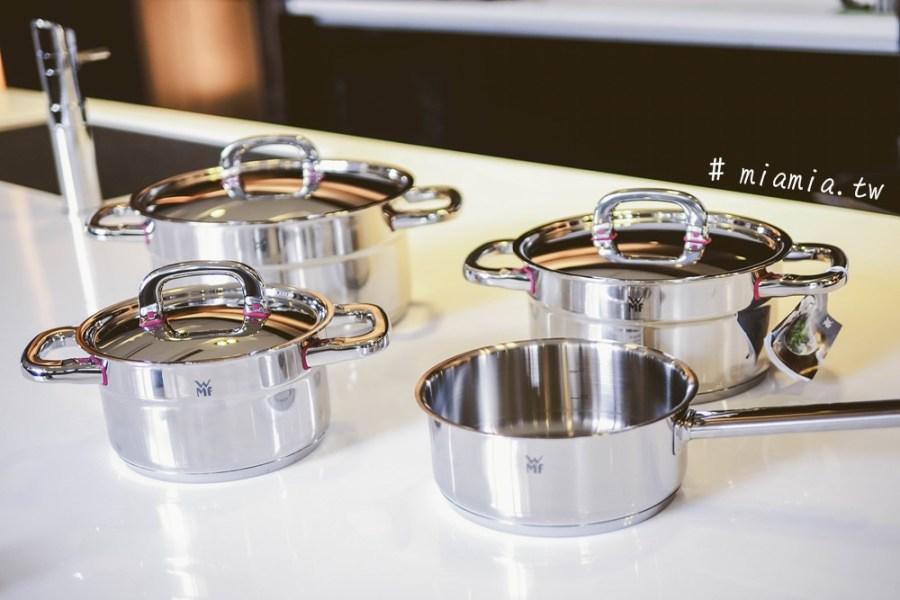 在GUOZ輕鬆入手廚具控的夢想》德國原裝進口WMF PREMIUM ONE系列 不鏽鋼湯鍋4件組開箱