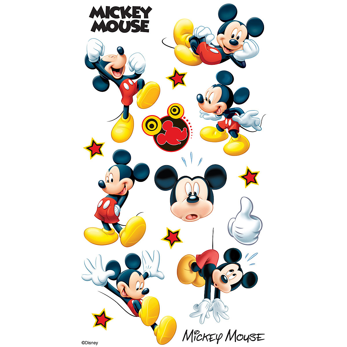 Disney Mickey Mouse Stickers