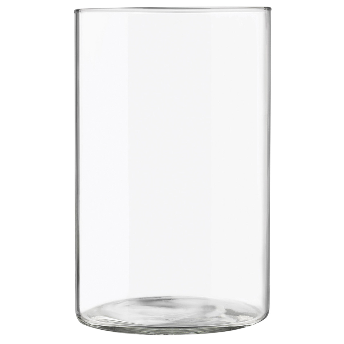 Libbey Glass Cylinder Vase 9 75in X 6 25in