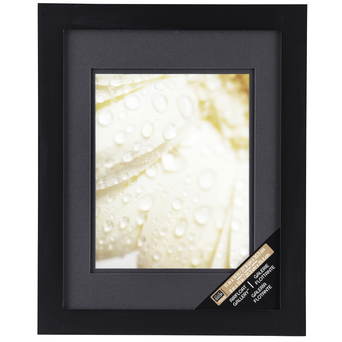 Black Wall Frame With Double Mat Studio