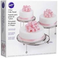 Wilton 3-Tier Cake Stand