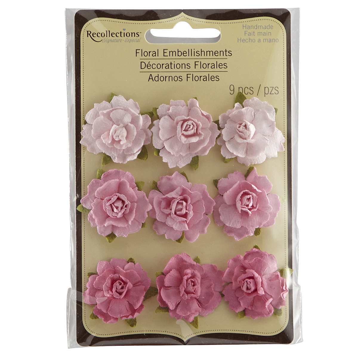 Recollections Signature Flower Embellishments