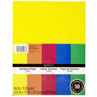 Recollections Primary Colors Cardstock Paper