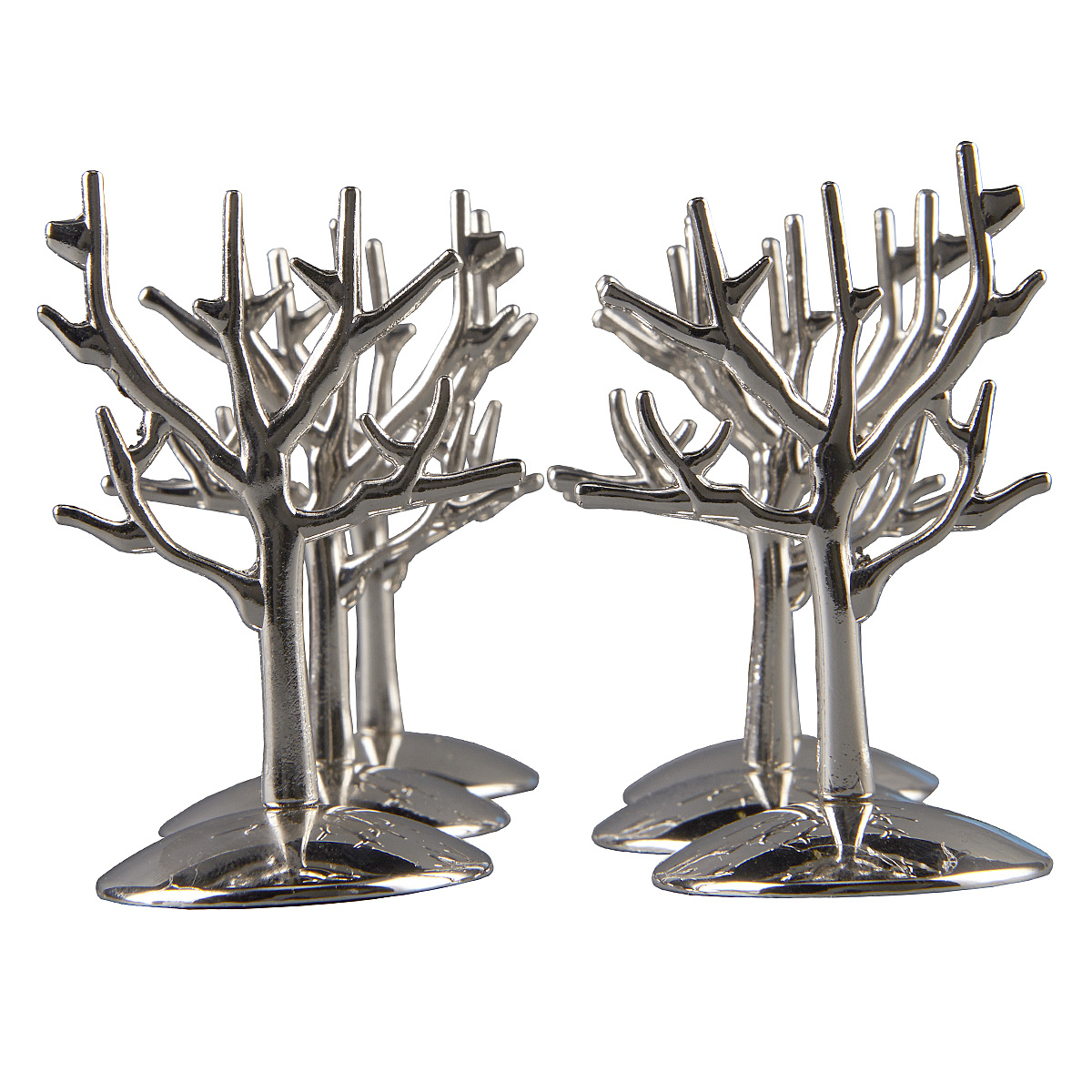 Celebrate It Occasions Silver Plated Tree Place Card Holder