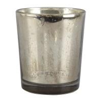Ashland Mercury Glass Votive Holder