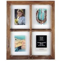 4-Opening Window Collage Frame, Savannah By Studio Dcor