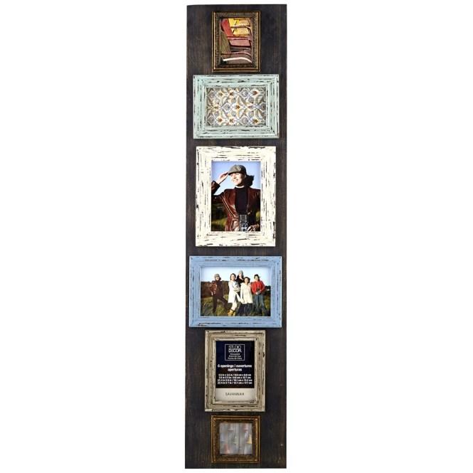 Open Back Frame Driftwood White 11x14 By Studio Decor