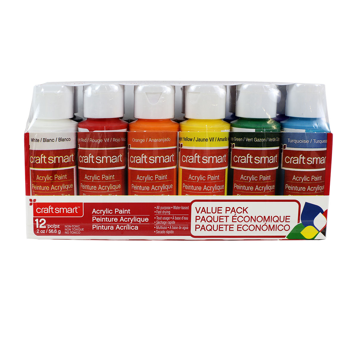Craft Smart Acrylic Paint Pack