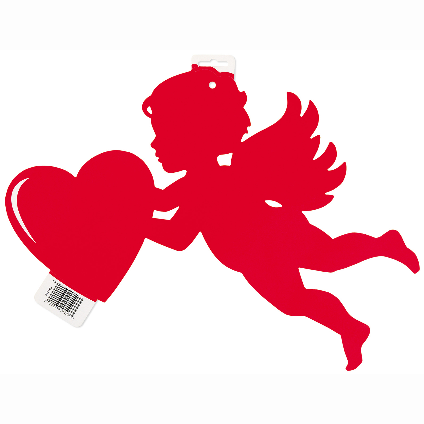 Paper Cut Out Cupid Valentine Decoration