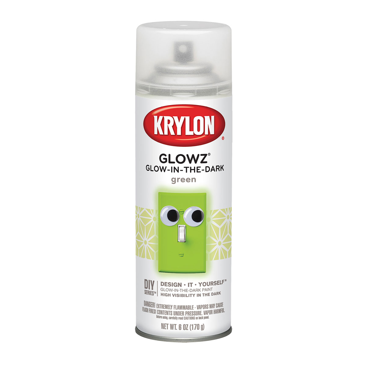 Krylon Glowz Glow In Dark Paint
