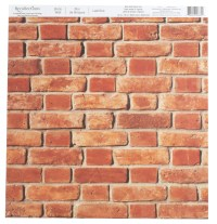 Brick Wall Scrapbook Paper by Recollections