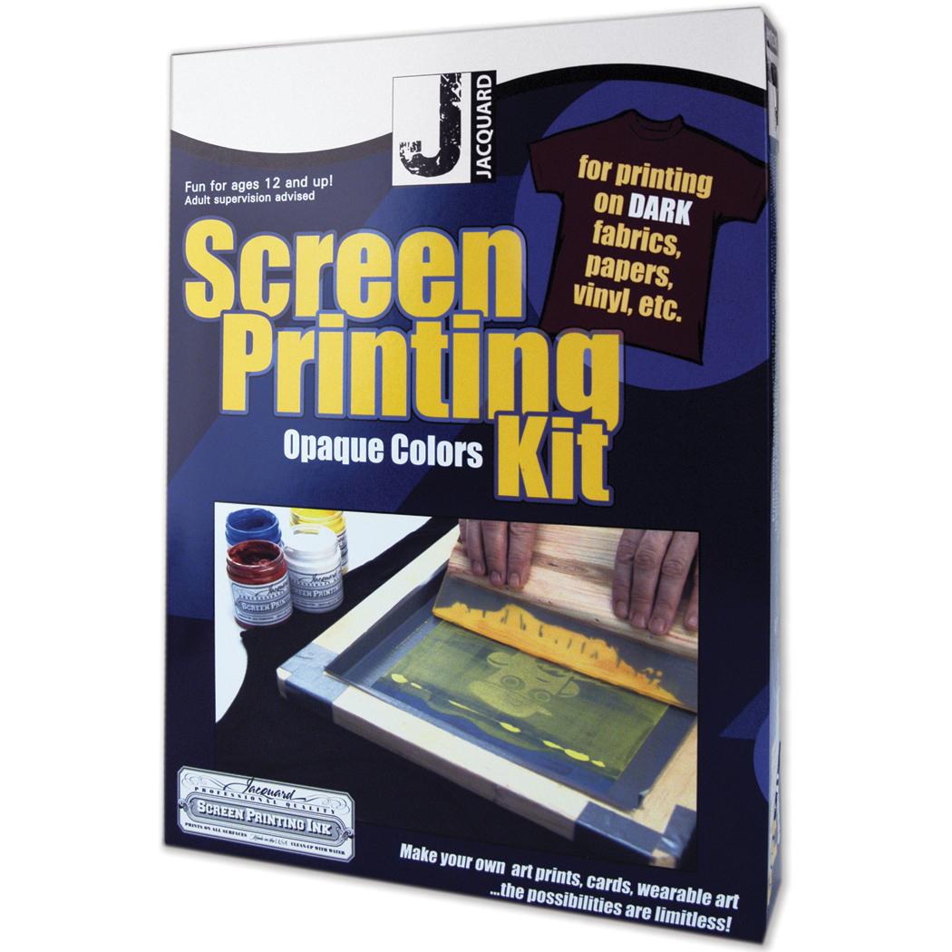 Jacquard Opaque Color Screen Printing Kit