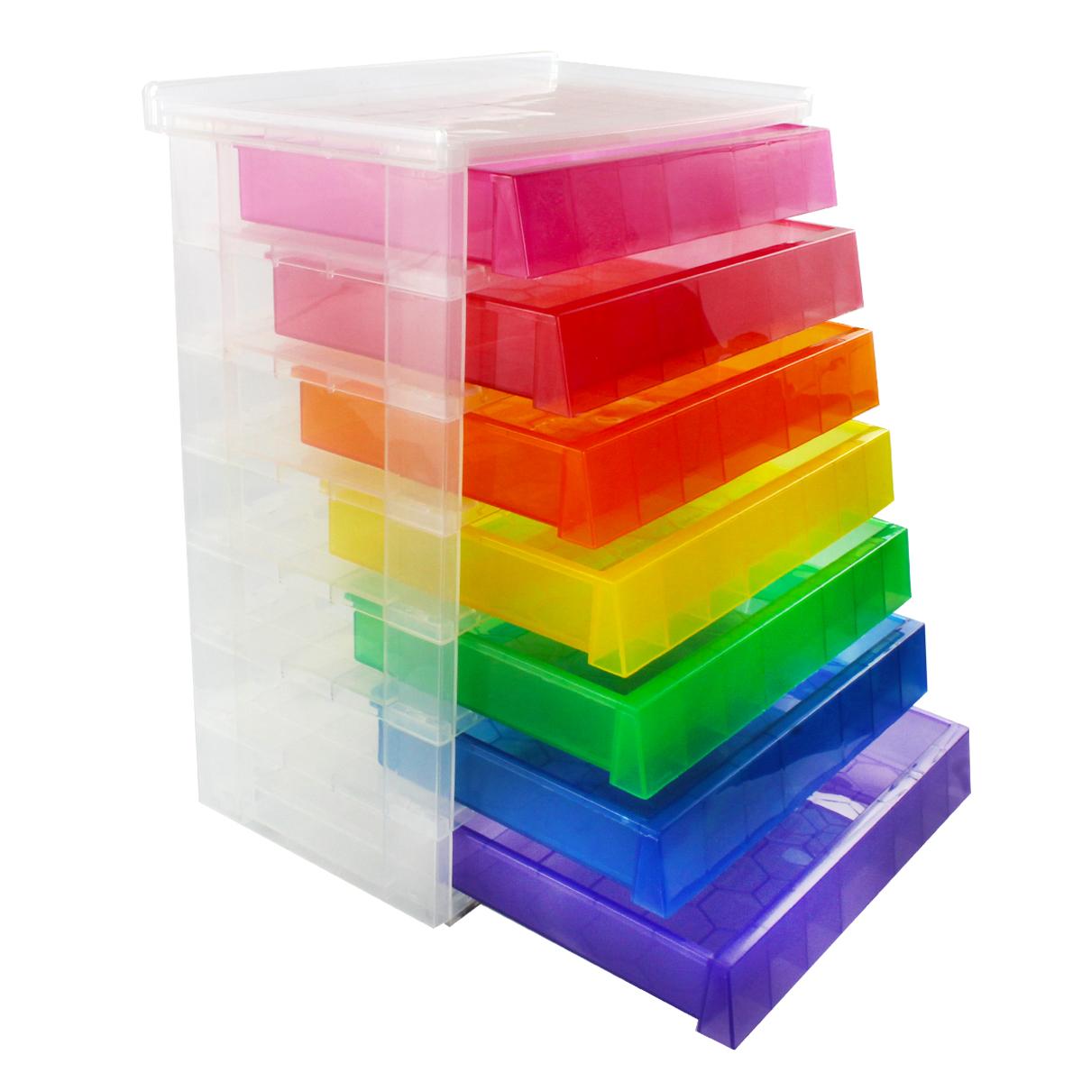 Clear Desk Organizer