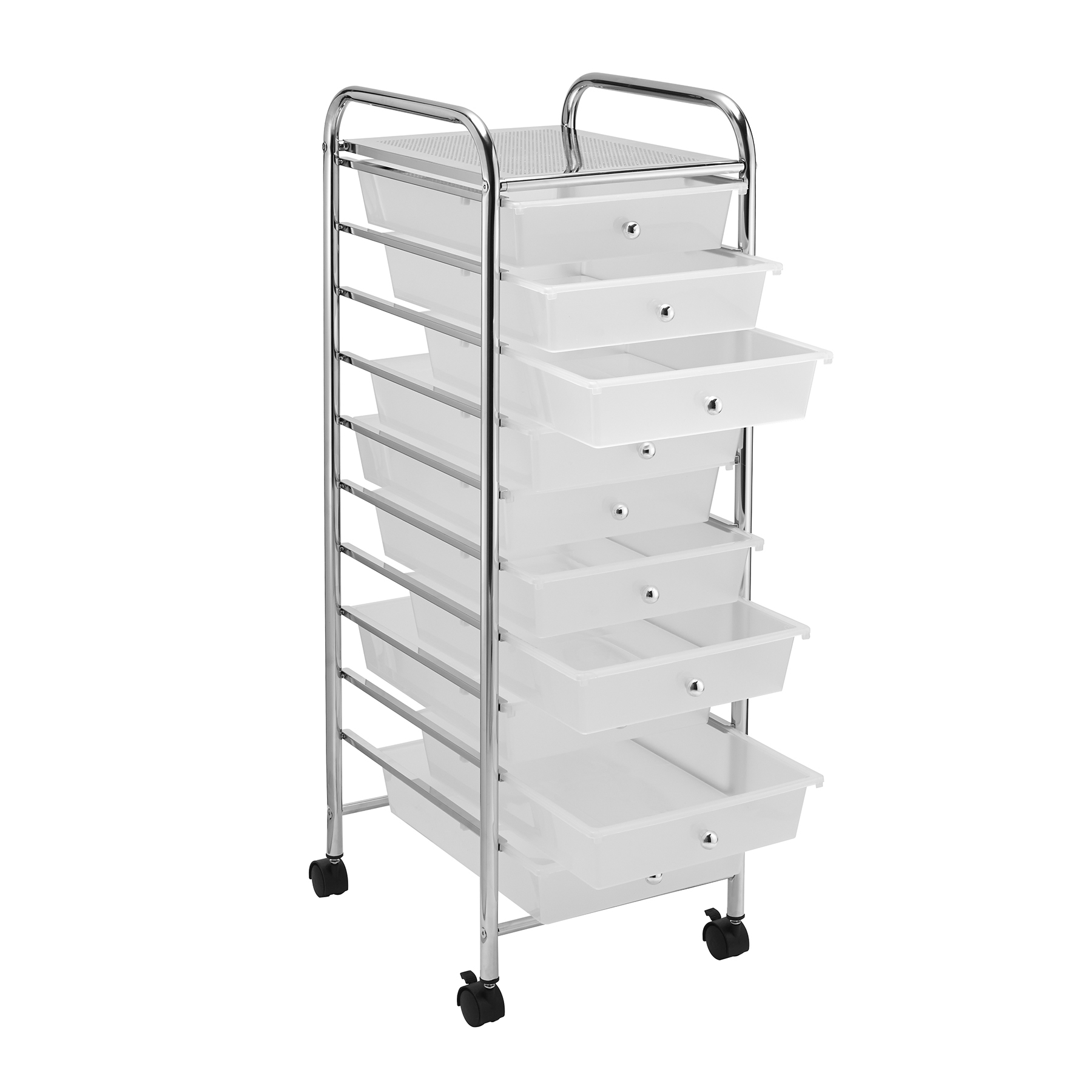 Clear 10 Drawer Rolling Organizer by Recollections