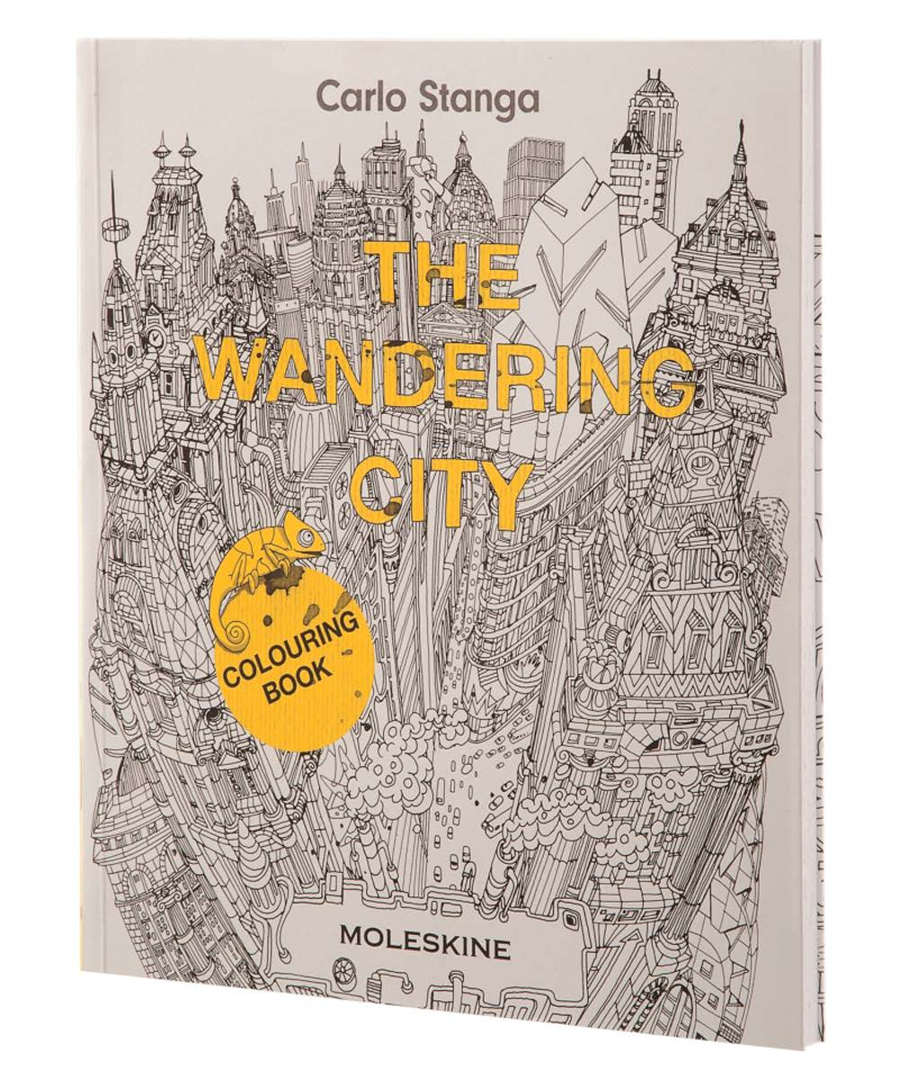 The Wandering City Coloring Book Doctor