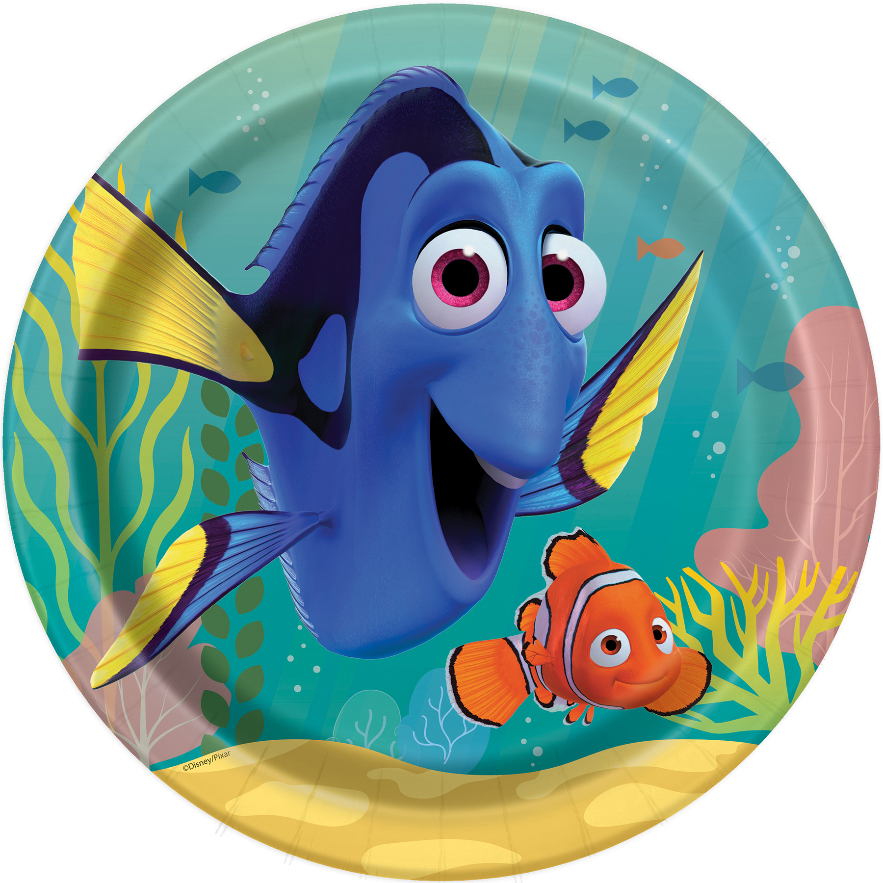 Finding Dory Paper Plates Party Supplies
