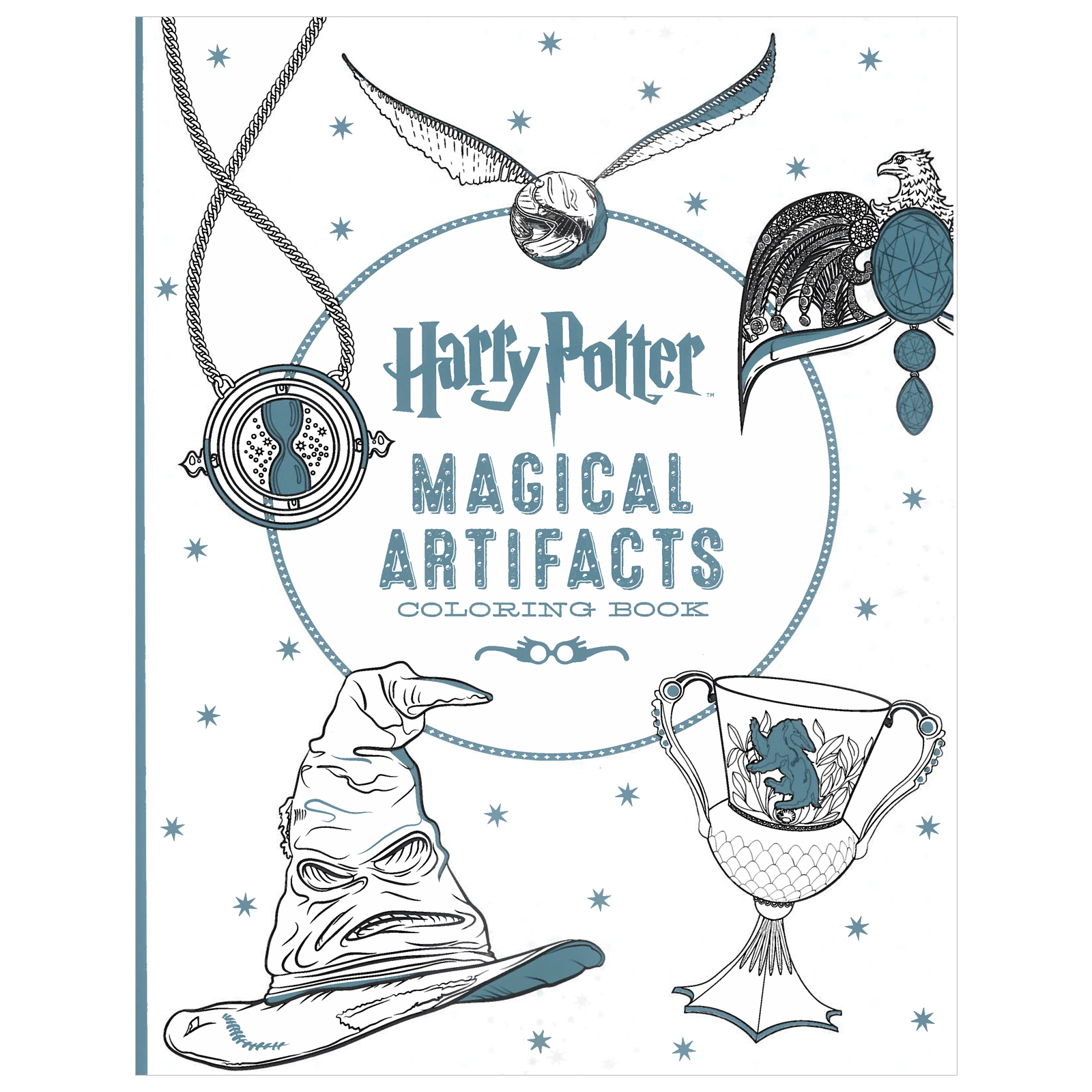 Harry Potter Artifacts Coloring Book Free Time At Michaels Doctor