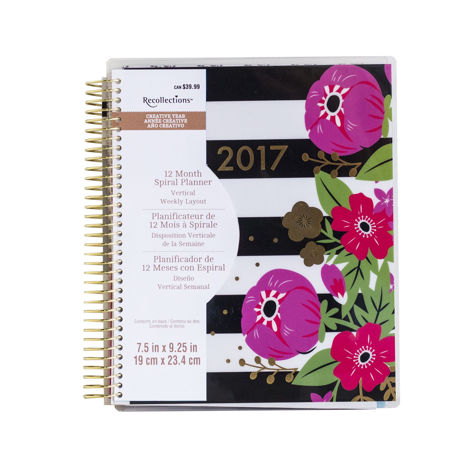 Image result for Creative Year Family Spiral Planner By Recollections