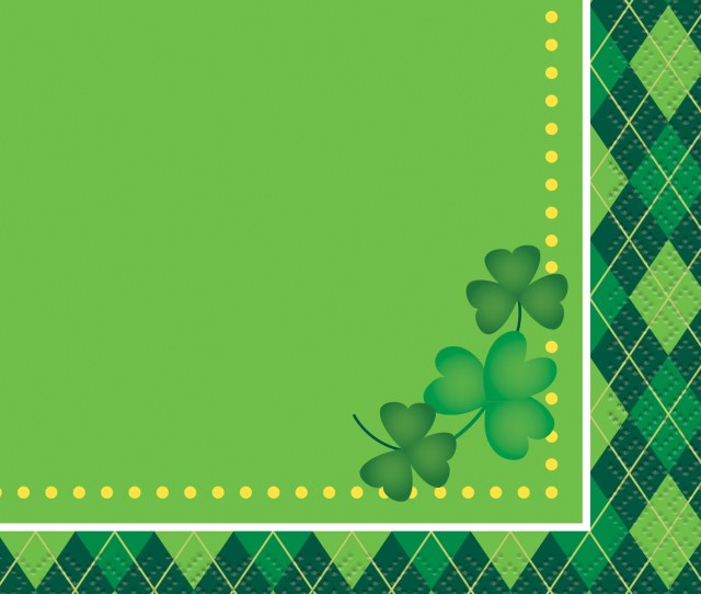 Argyle St Patricks Day Beverage Napkins Ct