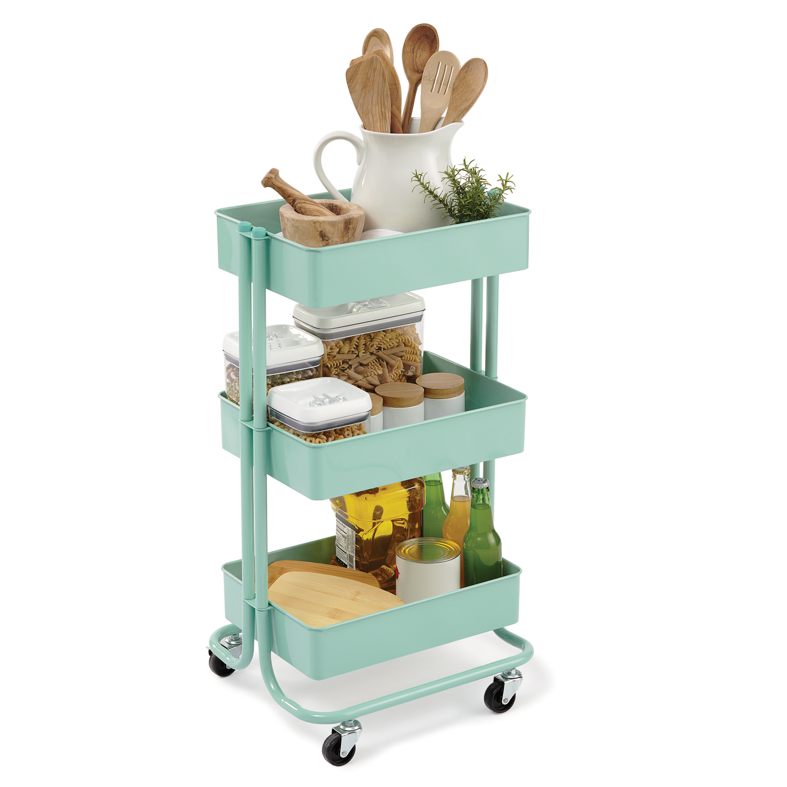 Find the Mint Lexington 3Tier Rolling Cart By