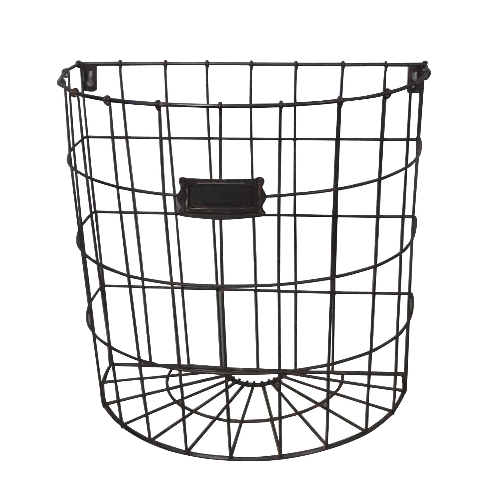 Buy the black large wire basket farmington by studio décor® at michaels