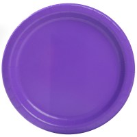Neon Tableware & 9 Neon Purple Party Plates 16ct Sc 1 St ...