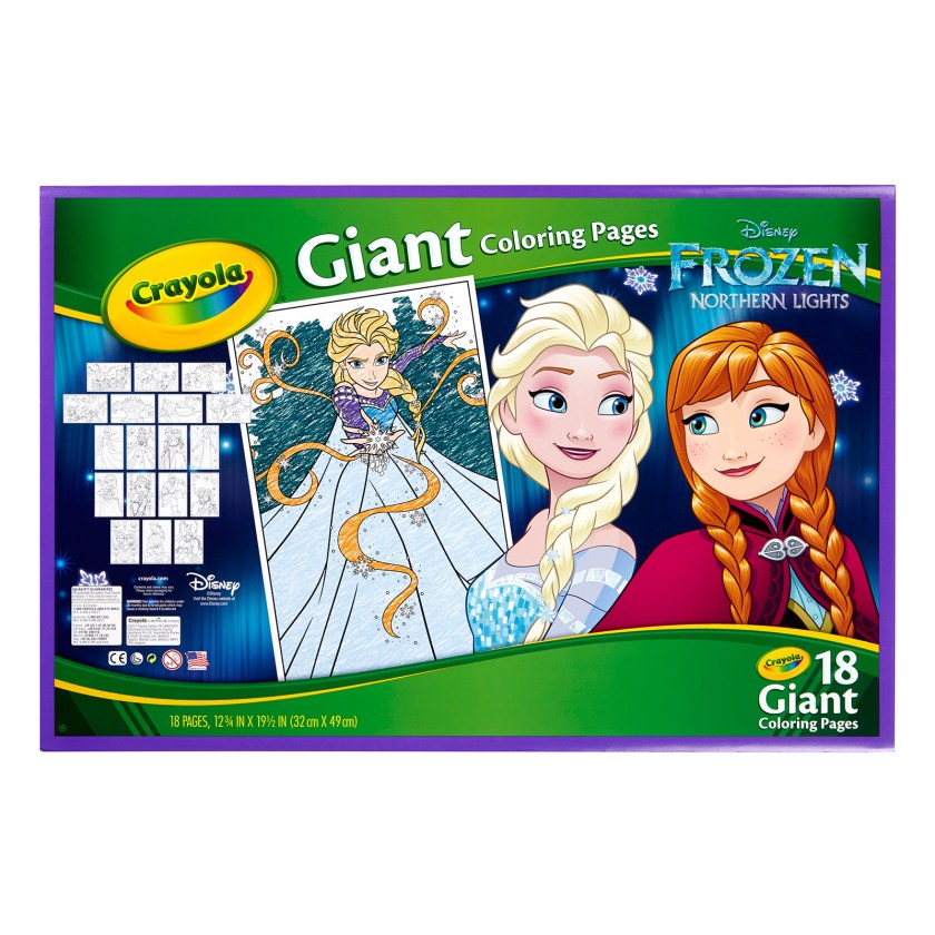 crayola® disney frozen giant coloring book