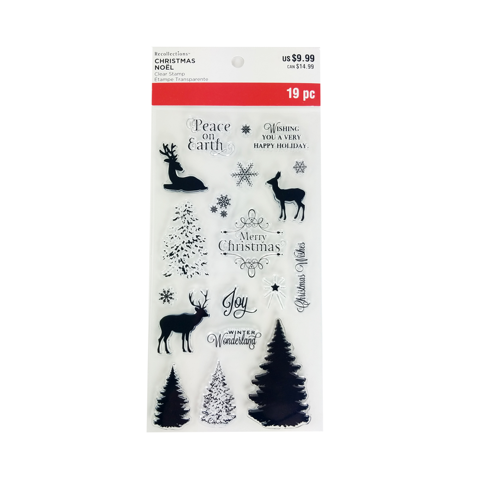 Buy The Layering Tree Clear Stamps By Recollections At