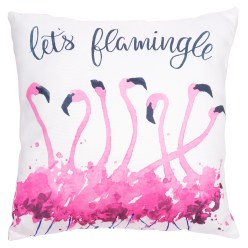 Let's Flamingle Pillow By Ashland