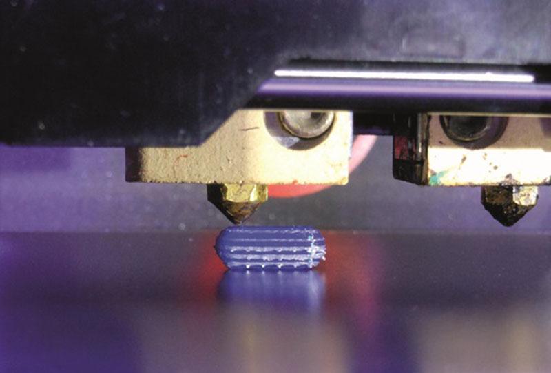 Impresión de un comprimido en 3D