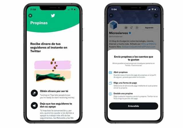 Twitter activa la función Propinas para apoyar a los usuarios de Twitter