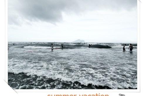 宜蘭》卡波烏石港衝浪和南方澳山海美景