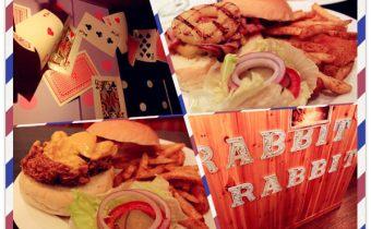 台北》東區美式漢堡推薦:兔子兔子創意美式漢堡