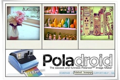 [免費軟體] 超有趣拍立得實境模擬-poladroid