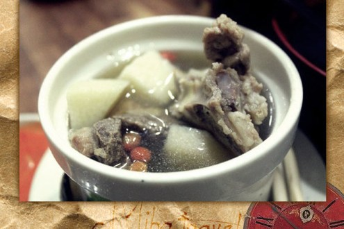 台中》寒冬就是要用碗熱呼呼藥燉排骨暖暖胃