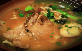 台北》新北投人氣溫泉拉麵,滿來拉麵