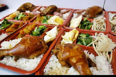 台北》忠孝新生站&光華商場美食推薦02:阿姐的店便宜美味的家常美味便當