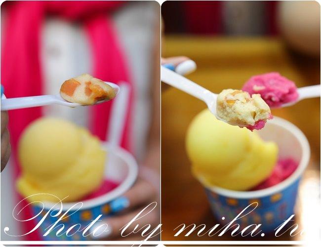 金山老街 焦糖地瓜冰淇淋 冰蹦拉