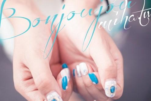西門町 Bonjoujou:抓住夏天尾巴~海邊度假感華麗寶石凝膠指甲