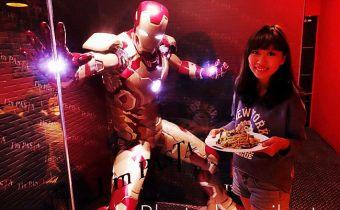 台北》光華餐廳推薦:I'm PASTA,全台唯一鋼鐵人陪你吃義大利麵