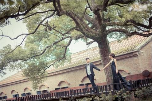 台北》淡水文化園區(殼牌故事館):帶著婚紗去旅行,婚紗景點說走就走!