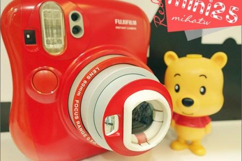攝影筆記:富士拍立得新手推薦,mini25 Red紅色限定版開箱介紹