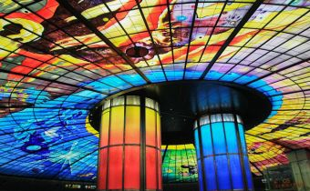 [高雄捷運] 高雄必去,世界最美車站:美麗島站Formosa Boulevard光之穹頂
