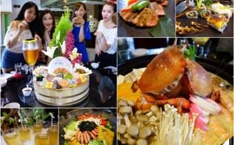 宜蘭》礁溪堯川創藝日式無菜單料理,超級推薦全家一起來吃澎派桌菜