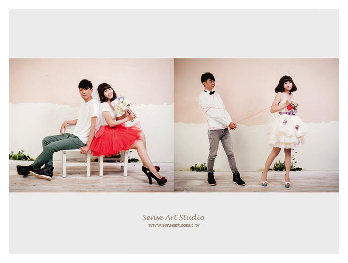 韓式婚紗 感覺攝影工作室