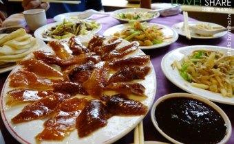 台北》中山站的聚餐好餐廳:天廚菜館,快可以擰出水的肥滋滋北平烤鴨