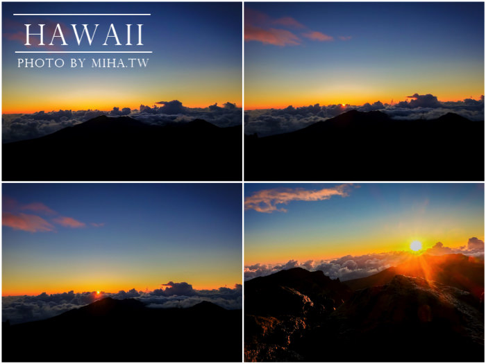 haleakala日出,夏威夷日出,內太空