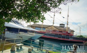 夏威夷》豪華愛之船 鑽石山遊艇晚餐 居然看到鯨魚和鑽石山