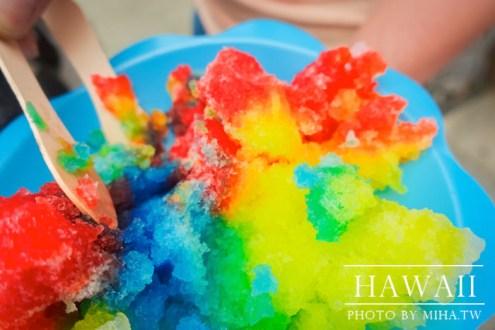 夏威夷》來到彩虹國度一定要吃一次 繽紛又可愛的彩虹冰