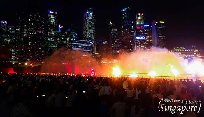新加坡夜景,克拉碼頭,新加坡摩天輪,金沙酒店水幕燈光秀,濱海灣花園,super tree,